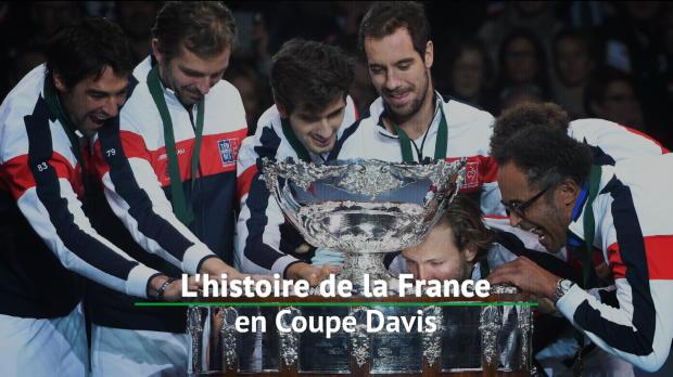 Tennis : Coupe Davis - La France en Coupe Davis, un siècle d'histoire