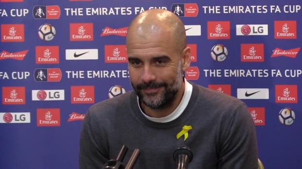 "FA Cup: Guardiola: Aguero? ""Habe nichts gesehen"""