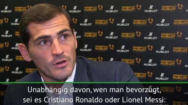 Casillas: Ronaldo und Messi auf Augenhöhe