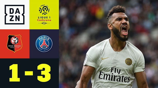 Ligue 1: Stades Rennes - PSG | DAZN Highlights