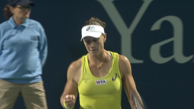 L1 : WTA - New Haven - Stosur a bataill�