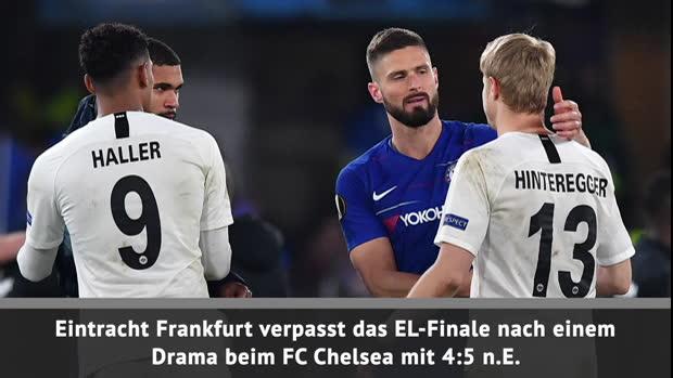 Fast Match Report: Chelsea - Eintracht Frankfurt