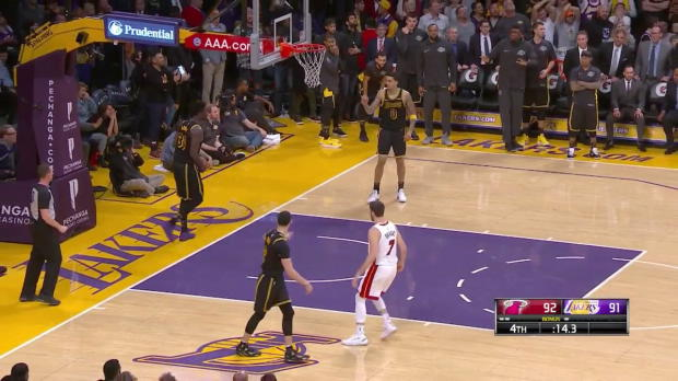 WSC: Goran Dragic scores the Game-Winner against the Lakers