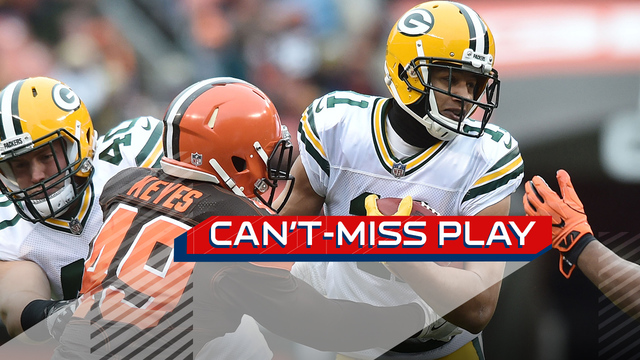 Can't-Miss Play: Trevor Davis evades sea of Browns on 65-yard return