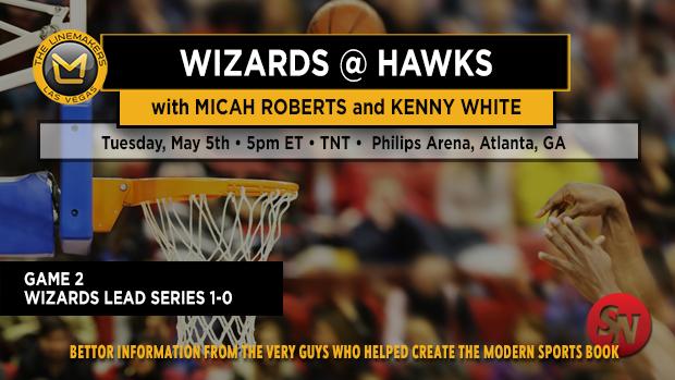 Wizards @ Hawks Game 2