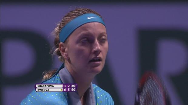 L1 : WTA - Singapour - Kvitova enfonce Sharapova