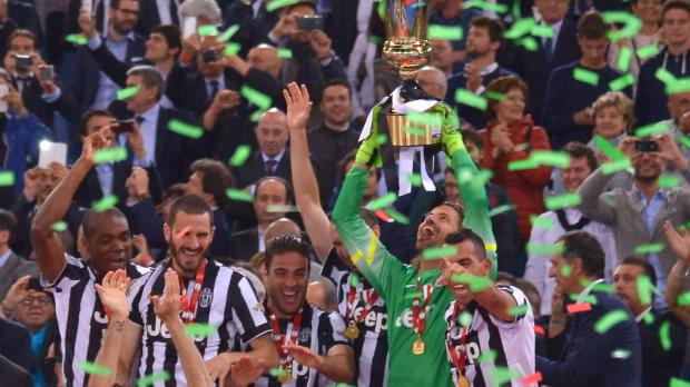 """Coppa Italia: Juves """"Triple kann wahr werden"""""""