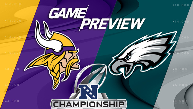 Minnesota Vikings vs. Philadelphia Eagles preview | 'NFL Playbook'