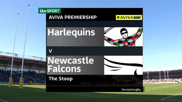 Aviva Premiership - Match Highlights - Harlequins v Newcastle Falcons