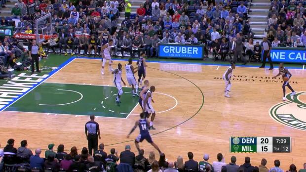WSC: Nikola Jokic with 17 Assists vs. Milwaukee Bucks