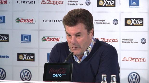 """Hecking: """"Wir wollen in Dortmund gewinnen"""""""