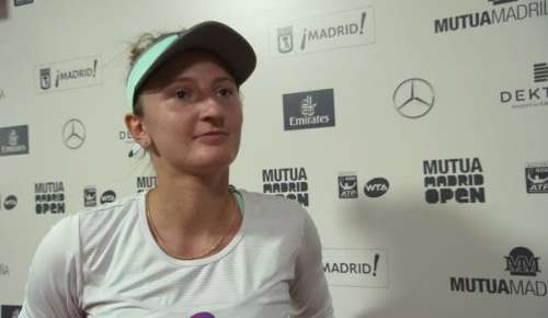 Begu Interview: WTA Madrid 2R