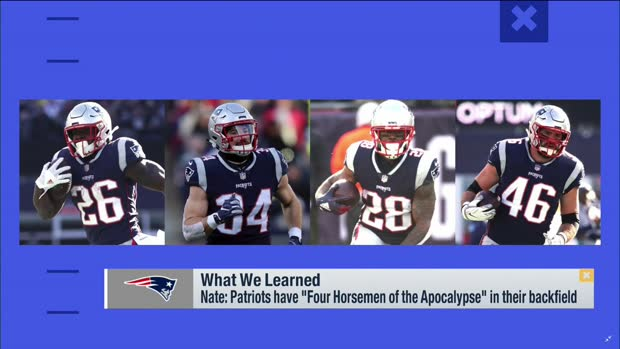 Nate Burleson: The New England Patriots have one of the 'scariest backfields this league has ever seen'