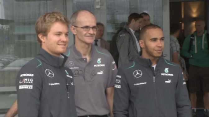 Mercedes : Prolongation pour Hamilton et Rosberg ?