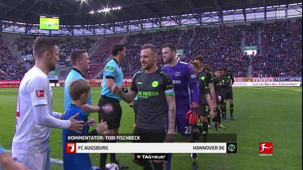 Bundesliga: FC Augsburg - Hannover 96   DAZN Highlights