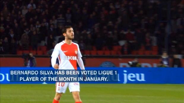 كرة قدم: الدوري الفرنسي: التعاقد مع نجم موناكو برناردو سيلفا أولوية ليونايتد