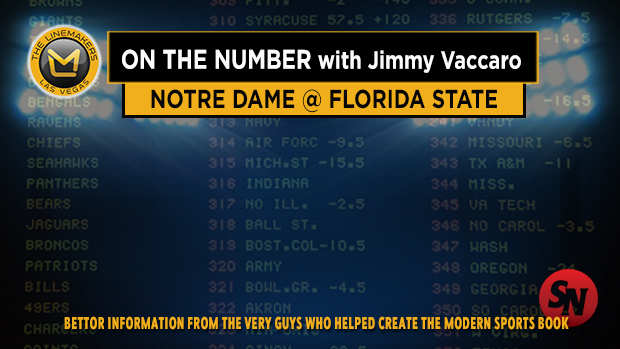Jimmy v on Notre Dame @ Florida State