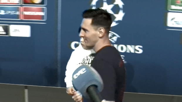 Backstage: Messis Sohn und DJ Alves