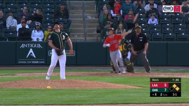 Walsh's three-run home run
