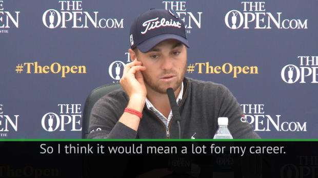 No other major comes close to The Open - Player