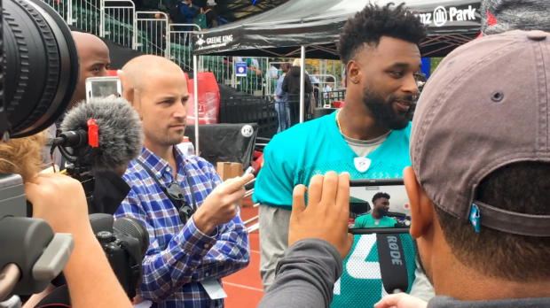 Dolphins Interview: Jarvis Landry