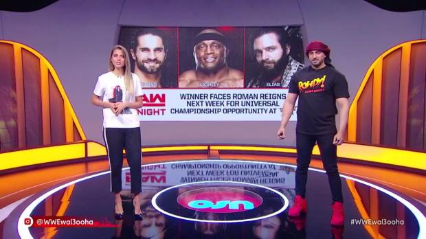 Bobby Lashley vs. Elias vs. Seth Rollins: Wal3ooha, 19 June, 2018