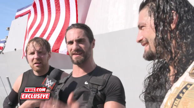 The Shield are proud to compete in front of the U.S. Armed Forces: WWE.com Exclusive, Dec. 14, 2017