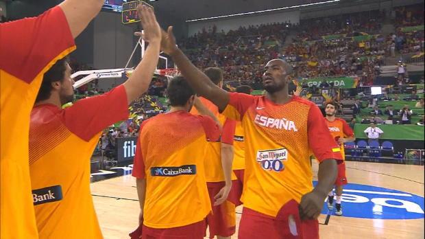 Basket : FIBA - Mondial - L'Espagne écrase le Brésil