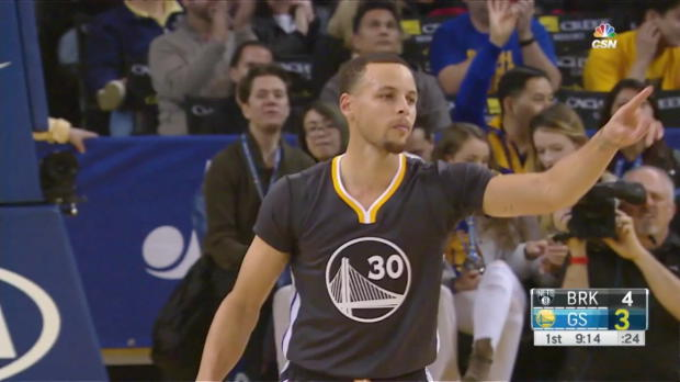 WSC: Stephen Curry 27 points vs the Nets