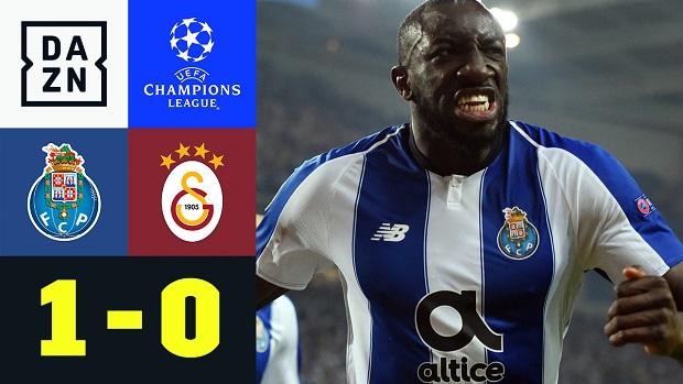 UEFA Champions League: FC Porto - Galatasaray | DAZN Highlights