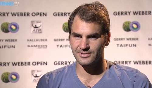Federer Interview: ATP Halle 1R