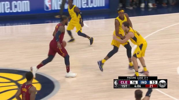 WSC: LeBron James (32 points) Highlights vs. Indiana Pacers, 04/22/2018