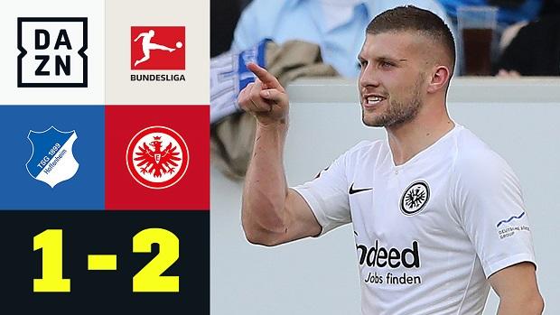 Bundesliga: TSG Hoffenheim - Eintracht Frankfurt | DAZN Highlights