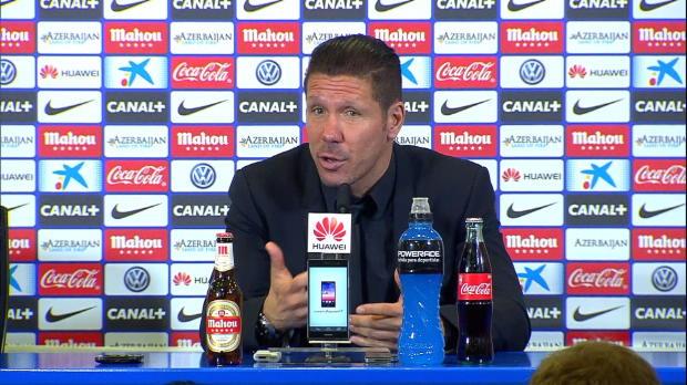 """Simeone: """"Es un problema social, no del fútbol"""""""