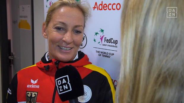 """Fed Cup: Rittner: """"Kerber muss man pushen"""""""