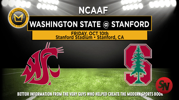 Washington State Cougars @ Stanford Cardinal