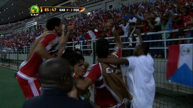 Copa de �frica: Gab�n 0-2 Guinea Ecuatorial