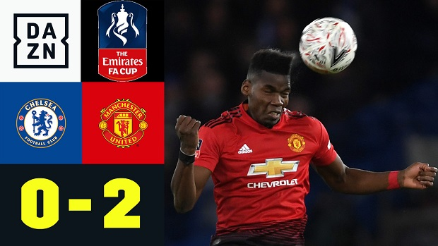 FA Cup: Chelsea - Man United | DAZN Highlights