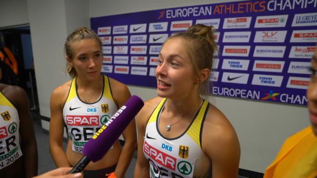 """100-Meter-Staffel: Lückenkemper """"überglücklich"""""""