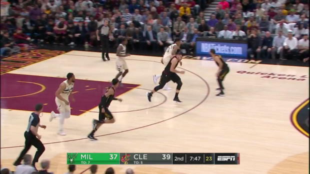 WSC: Giannis Antetokounmpo (37 points) Highlights vs. Cleveland Cavaliers