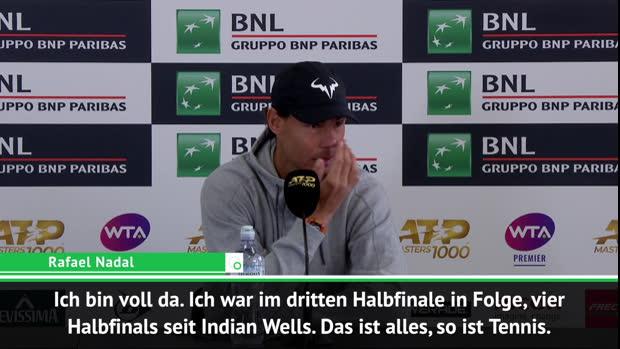 """Nadal: """"Wenn ich verloren habe, dann verdient"""""""