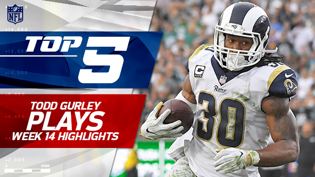 Top 5 Todd Gurley plays | Week 14