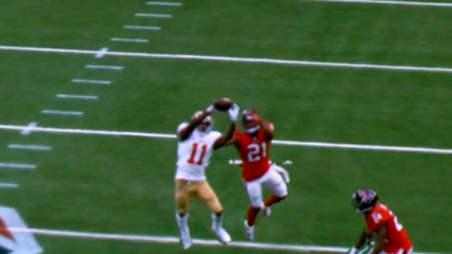 freeD: Marquise Goodwin soars over the middle for another big play | Week 14