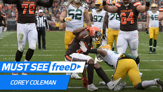 freeD: Corey Coleman got just over the line for this TD | Week 14