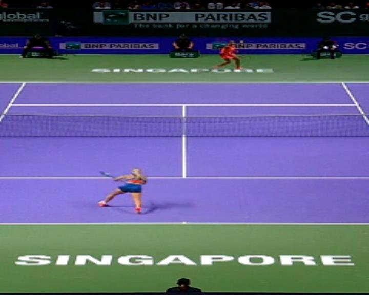 لعبة اليوم: تنس: ضربة كيز الساحرة مؤشّر صريح على سطوتها أمام سيبولكوفا