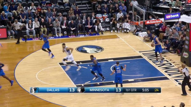 WSC: Karl-Anthony Towns 26 points vs the Mavericks