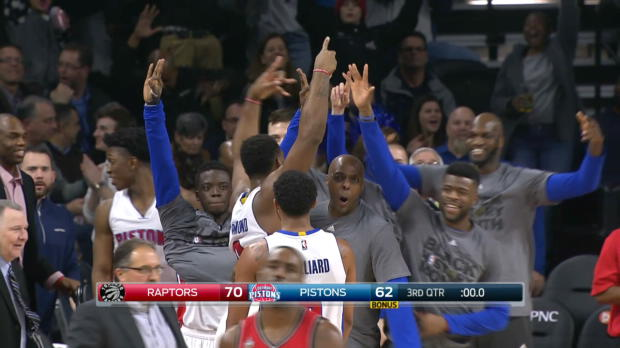 Andre Drummond Drains the Full-Court Buzzer Beater!