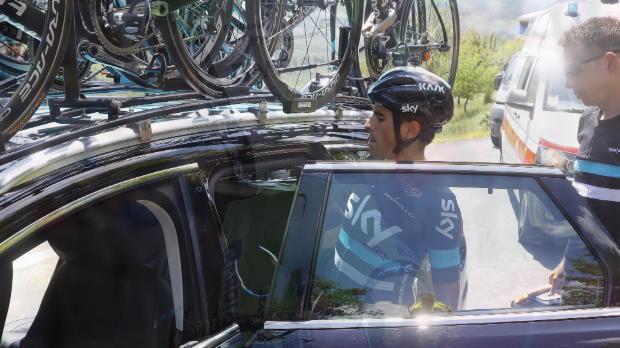 Giro de Italia - Mikel Landa abandona por problemas de salud