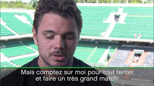 : Roland-Garros - Wawrinka - 'Le défi ultime pour tout joueur de tennis'
