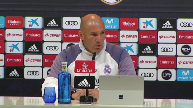 """Zidane: Clasico? """"Sind nicht der Favorit"""""""